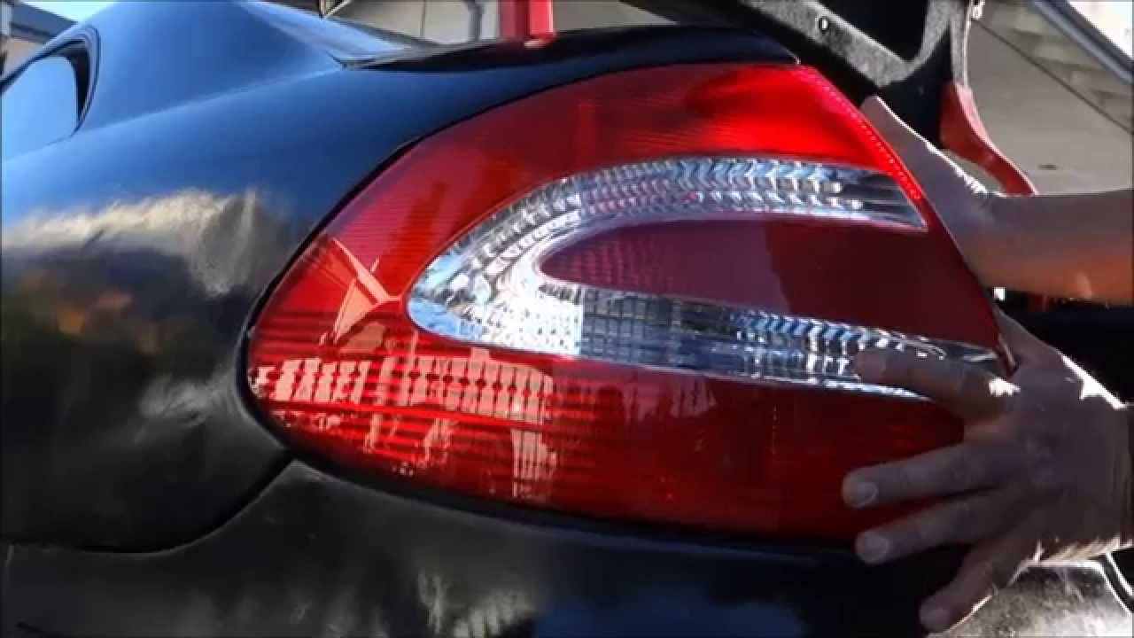 maxresdefault how to install replace tail light clk class w209 mercedes  at gsmportal.co