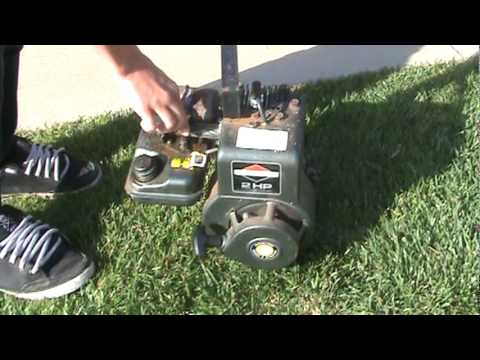 briggs and stratton 2hp youtube. Black Bedroom Furniture Sets. Home Design Ideas