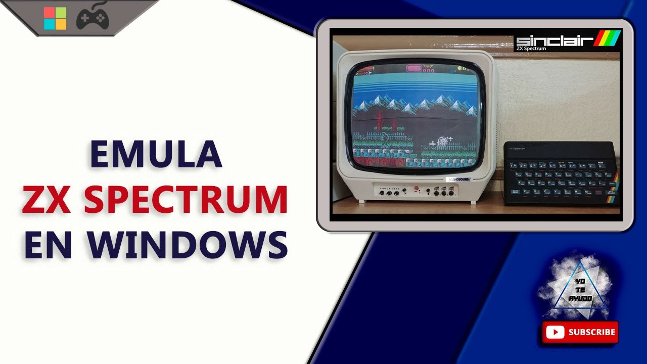 Emulador ZX Spectrum en Windows | SpectrumAnyWhere | Emula y revive el Spectrum o descúbrelo