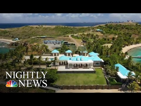 Jeffrey Epstein's Life On His Private Caribbean Islands | NBC Nightly News