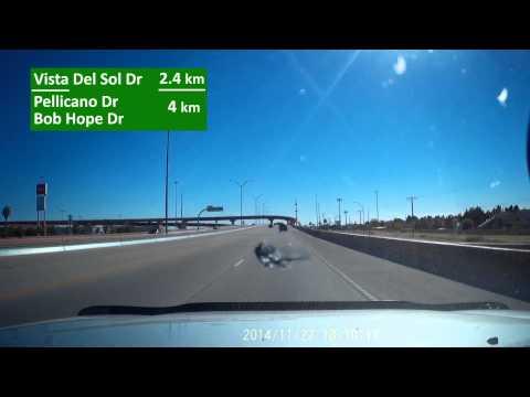 Loop 375 South in East El Paso