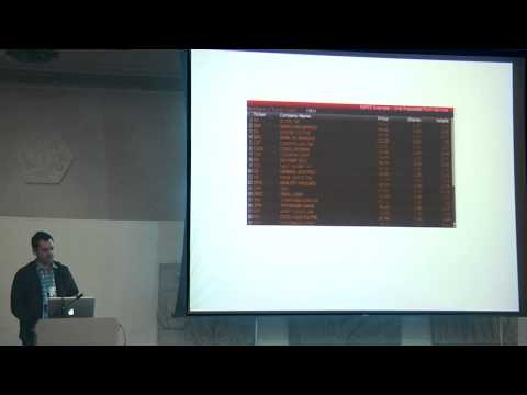 Andrew Paprocki: Bloomberg: home-grown server-side scripting
