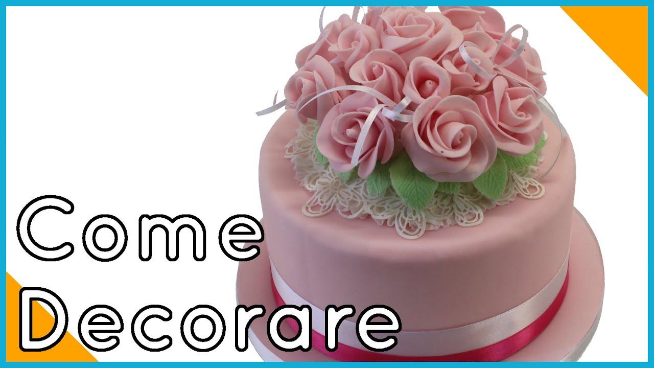 Mazzo Di Fiori Con Pasta Di Zucchero.Decorare Una Torta Con Fiori Di Pasta Di Zucchero By Italiancakes