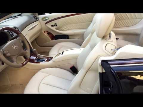 SOLD - 2009 Mercedes-Benz CLK350 Cabrio for sale by Auto Europa Naples