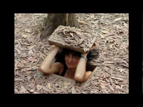 Indochina / Vietnam - Cu Chi Vietcong Guerilla Tunnels