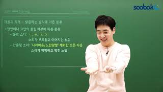 [중등인강/중3 국어] 자음의 체계 - 수박씨닷컴 임원…