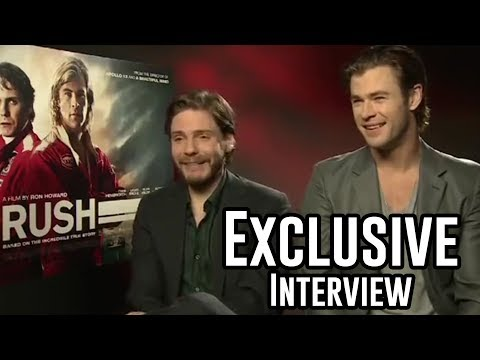 Chris Hemsworth and Daniel Bruhl Interview - Rush