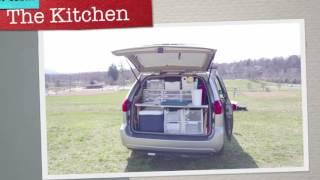 Minivan Camper Tour