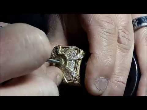 how-to-make-a-ring-from-wax-to-cast-18kt-gold-and-iced-in-diamonds-tutorial