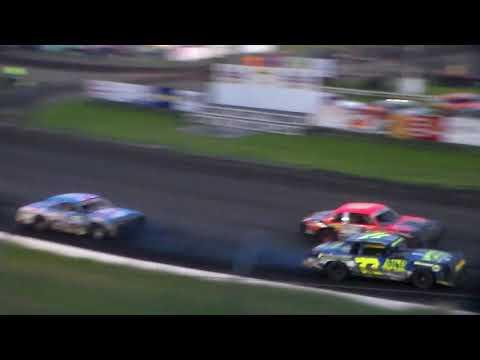 Hobby Stock Heat 1 @ Hamilton County Speedway 09/23/17