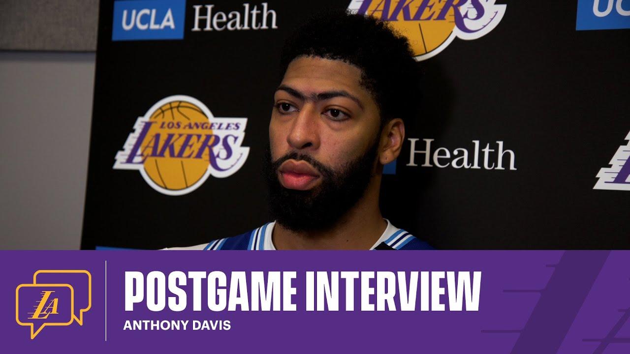 Lakers Postgame: Anthony Davis (5/7/21)