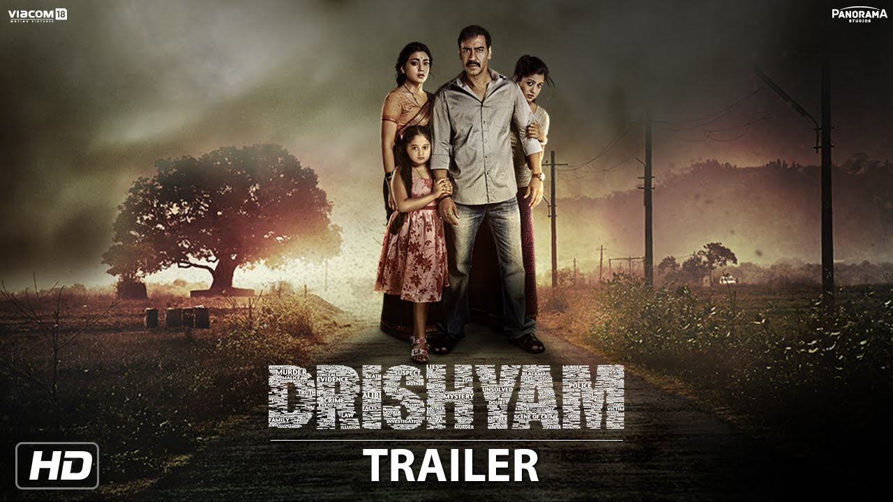 Download Drishyam Trailer | English Subtitles | Starring Ajay Devgn, Tabu & Shriya Saran