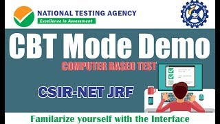 CBT Mode Demo | Familarize with Interface | Online Exam | CSIR-NET