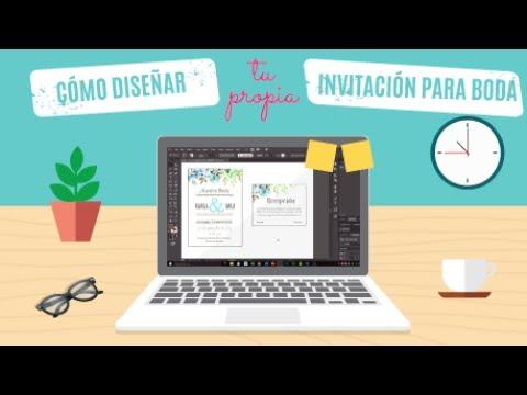Cómo DISEÑAR tu INVITACIÓN con Illustrator | Ideas para Boda