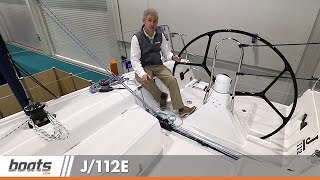 J/112E: First Look Video from London Boat Show
