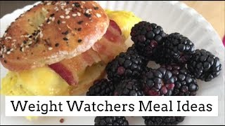 What I Ate On Weight Watchers Freestyle to Lose Weight!