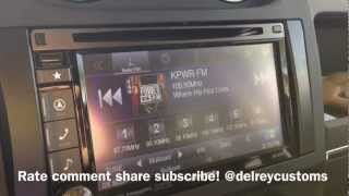 Alpine INE-S920HD 2012 JEEP PATRIOT NAVIGATION UPGRADE Los Angeles, CA