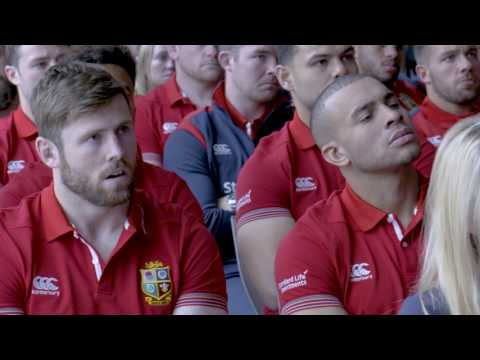 Tracking the Lions: Will Greenwood and George North