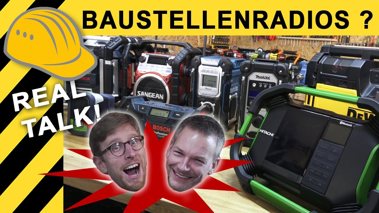 bestes baustellenradio test kaufberatung vergleich makita bosch festool dewalt radio. Black Bedroom Furniture Sets. Home Design Ideas
