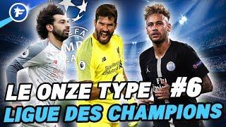 Le onze type de Ligue des Champions #6