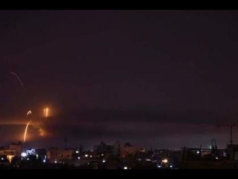 Пригород Дамаска подвергся обстрелу