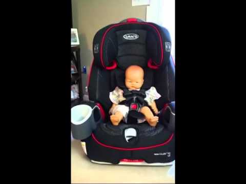 Graco Nautilus 65 XL 3 in 1 Harness Booster Car Seat - YouTube