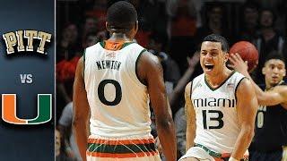 Pittsburgh vs. Miami Basketball Highlights (2015-16)