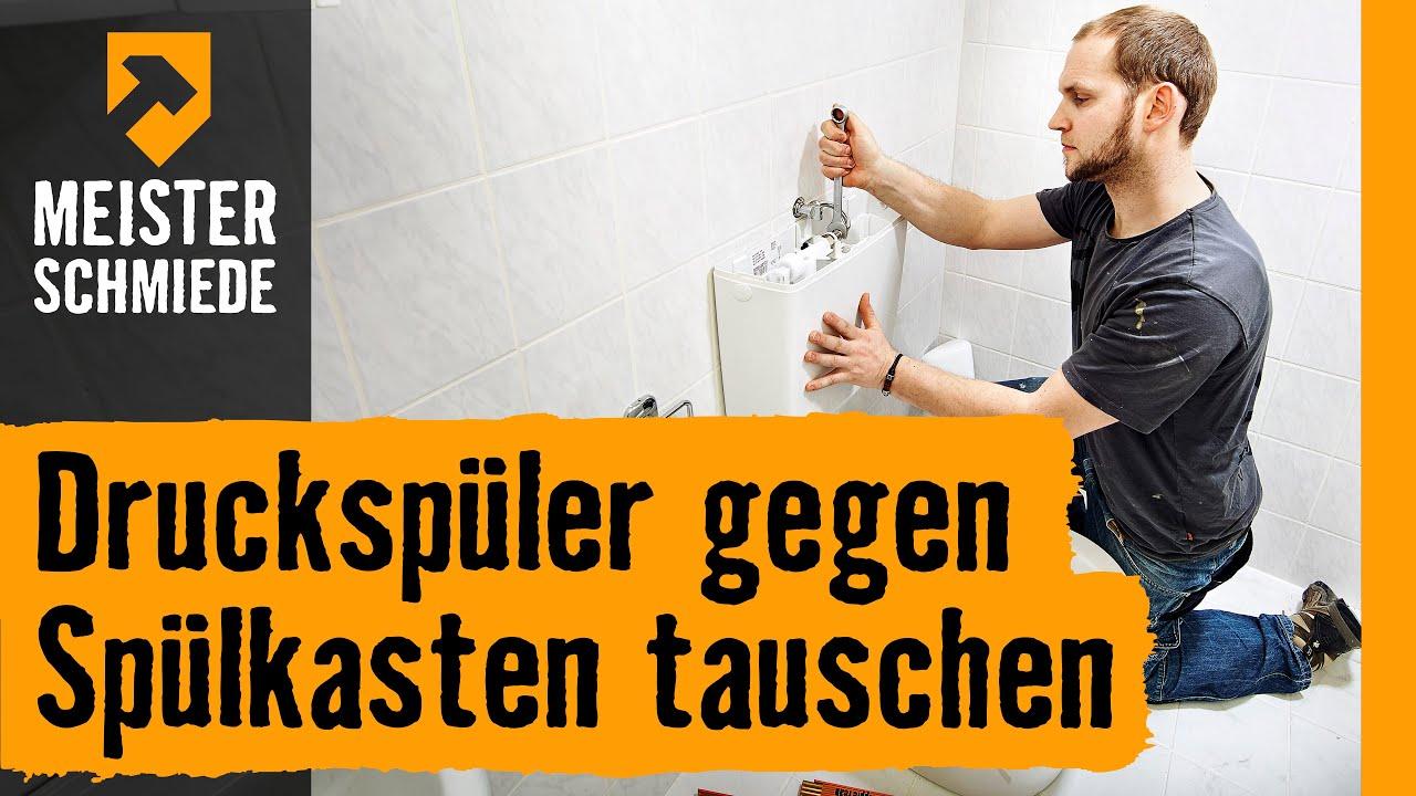 Top Druckspüler gegen Spülkasten austauschen   Anleitung von HORNBACH TR34