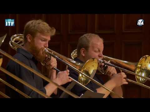 CSU Schwob Trombone Ensemble at ITF 2017