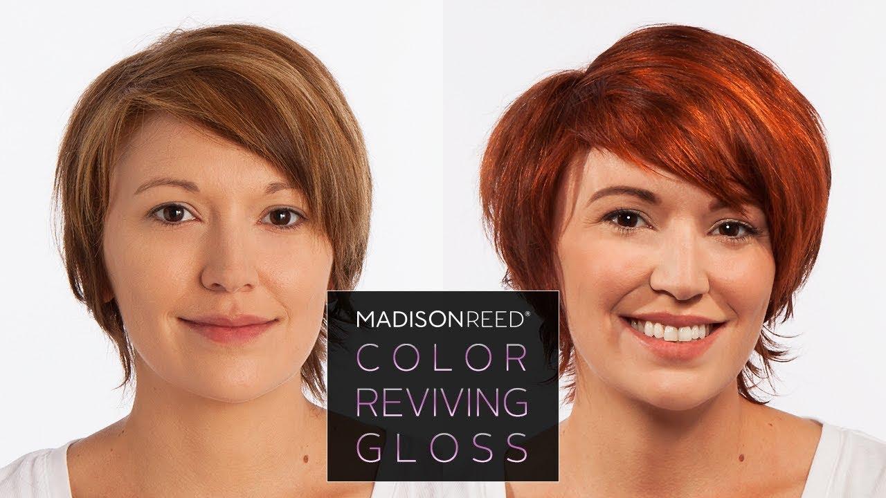 Madison Reed Color Reviving Hair Gloss Barolo Youtube