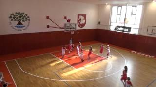 2014 0927 Basket U13 OP Studánka Pardubice - Bižuterie Jablonec 1. zápas
