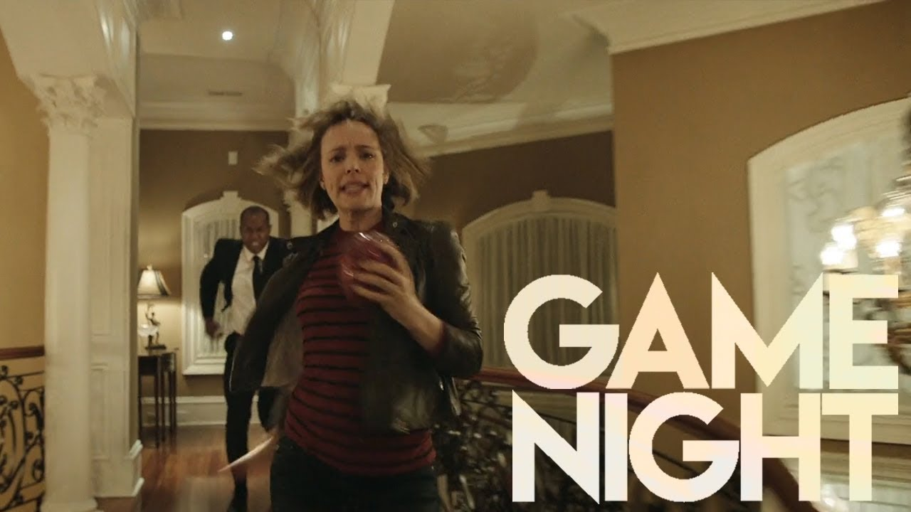 Download Game Night (2018) HD - Egg Chase Scene