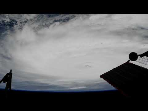 ISS Pass Over Hurricane Jose and Hurricane Irma 9/8/17