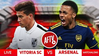 Vitoria SC 1-1 Arsenal - Live Watchalong & Call In Ft Claude & Laurie Lyle