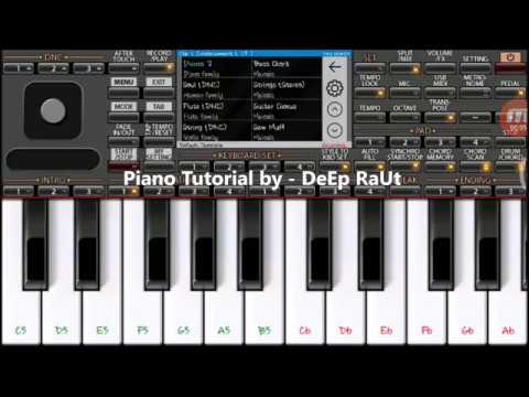Nagin | Main Teri Dushman | Mobile Piano tutorial on ORG2018