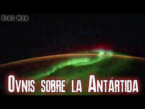 Impactante grabación de Ovnis sobre la Antártida