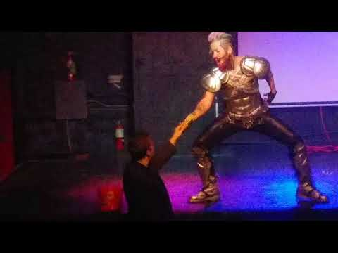Spikey Van Dykey Drag King- Boiz of Austin Drag King Showcase