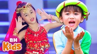 Bài Hát Thiếu Nhi Sôi Động Alibaba ♫ Bống Bống Bang Bang | Nhạc Thiếu Nhi Vui Nhộn Cho Bé Ăn Ngon
