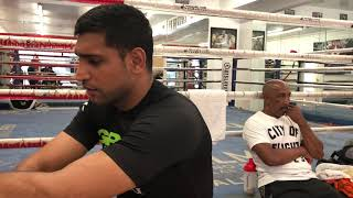 Amir Khan reaction to Tyson Fury vs Deontay Wilder