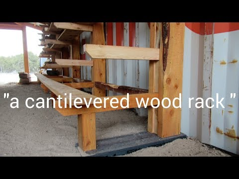 """""""a-cantilevered-wood-rack"""""""