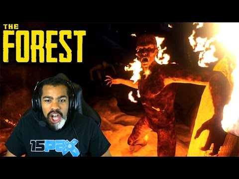 THERE ARE A TON OF SAVAGES IN THIS CAVE!! | The Forest | #3