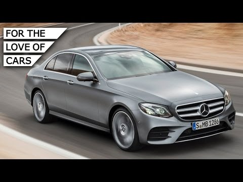All-New Mercedes-Benz E-Class: Quiet Tech Express - Carfection