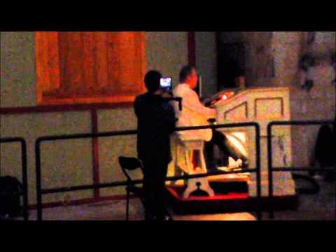 Gunnar Julin playing the Skandia Organ May 20 2015