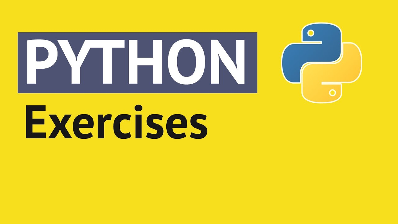 Python Exercises for Beginners - Exercise #1