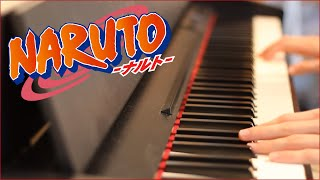 Naruto Ending 1 - Wind (Piano Cover)