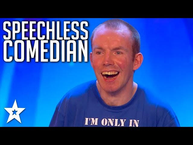 Funny Comedian Lost His Voice 37 Years Ago! | Got Talent Global