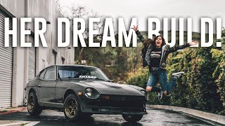 Surprising My Fiance with HER DREAM CAR! *DATSUN 280Z*
