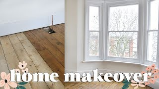 Home Makeover: Painting, Sanding, Plastering and Progressing | Home Renovation DIYary 3