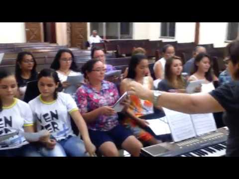 ENSAIO DO RECITAL DE NATAL 2016 N13 - Igreja Nova Apostólica - Siqueira