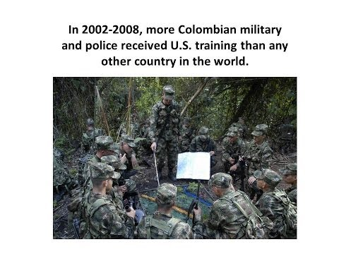 """Voices and Silences: """"False Positive"""" Killings in Colombia, US Military Aid, and how to stop them"""